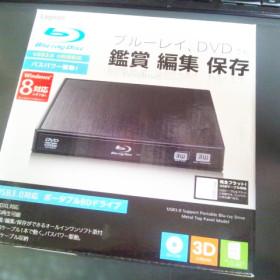ポータブルブルーレイドライブ LBD-PME6U3VBK