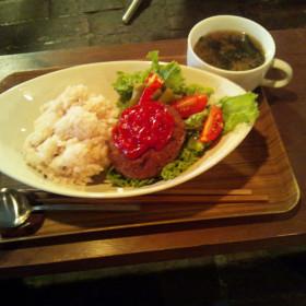 大阪・中崎町のカフェレストラン 実人(minto) プレートメニュー